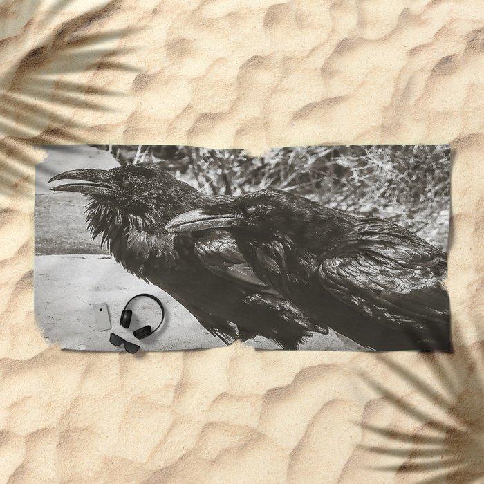 Partners In Crime Beach Towel