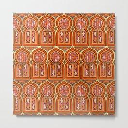 Marrakesh Windows Metal Print