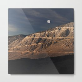 Road to the Moon. Metal Print