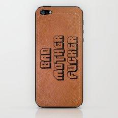 Bad Motherfucker iPhone case iPhone & iPod Skin