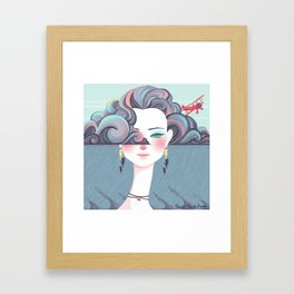 Up in the Clouds II Framed Art Print