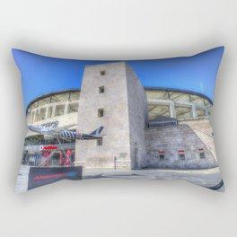 Besiktas Football Club Stadium Istanbul Rectangular Pillow