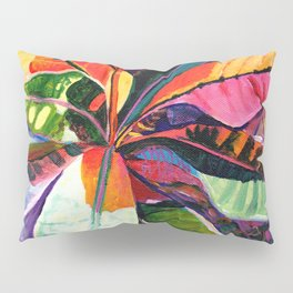 Kauai Croton Leaves Pillow Sham