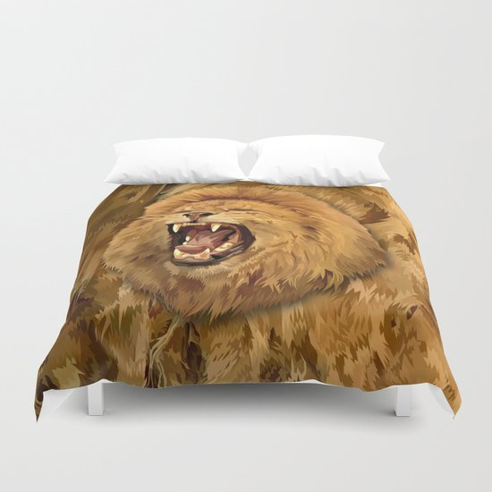 Lion Roar iPhone 4 4s 5 5c 6, pillow case, mugs and tshirt Duvet Cover