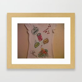 Super Sweet Soda. Framed Art Print