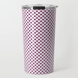 Sugar Plum Polka Dots Travel Mug