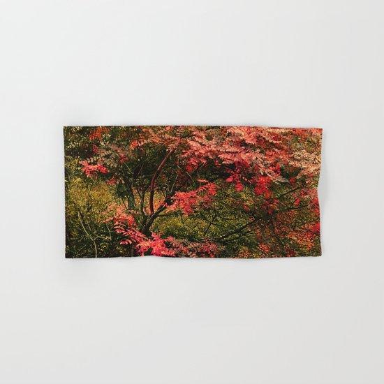 Autumn in the Garden 2 Hand & Bath Towel