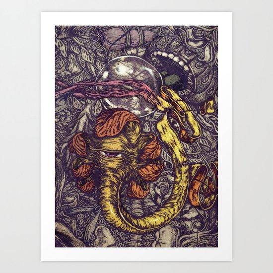 The Complex Art Print