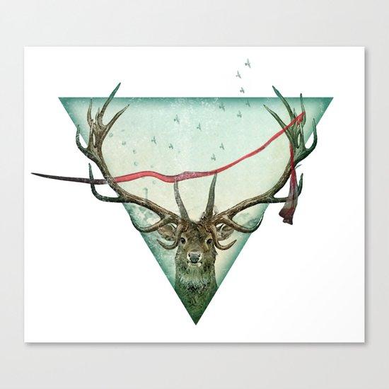 scarlet runner Canvas Print