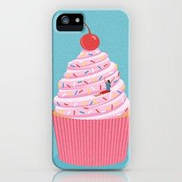 Cupcake slide iPhone Case
