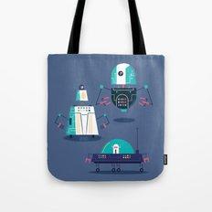:::Mini Robot-Nanoi::: Tote Bag