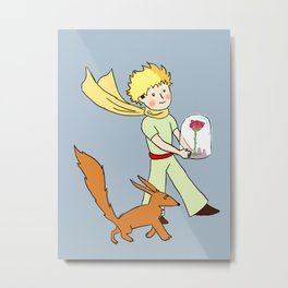 The Little Prince Metal Print