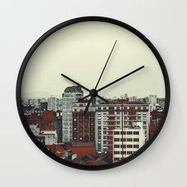 Sao Paulo Skyline I Wall Clock
