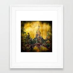 Disney World Framed Art Print