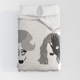 Trixie and Katya Comforters