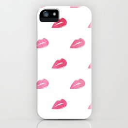 Lip Service  |  Ombre Watercolor Lips iPhone Case