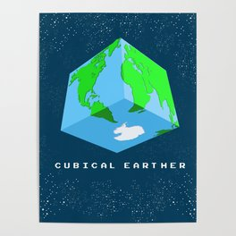 Cubical Earther Poster