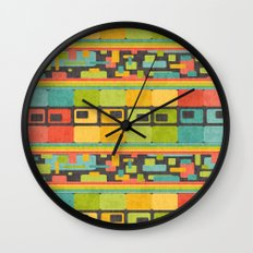 Retro Overload Wall Clock