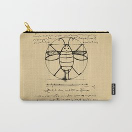 Da Vinci's Vitruvian Roach Carry-All Pouch