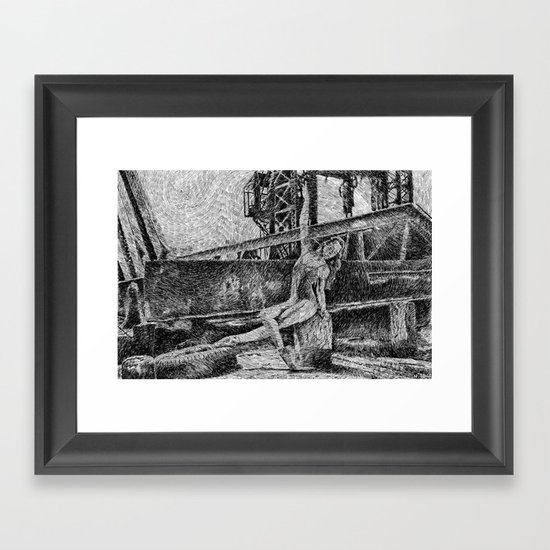 Fingerprint - Dance Framed Art Print