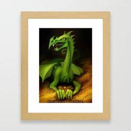 Fafnir Framed Art Print