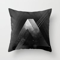triangle Throw Pillows featuring Triangle by Guilherme Rosa // Velvia