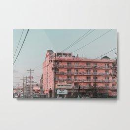 Hotel Monte Carlo Metal Print