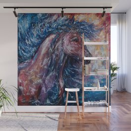 I Am The Storm Wall Mural