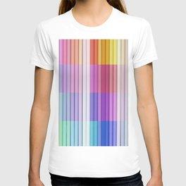 color bar T-shirt