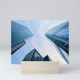 Skycrapper in New York Mini Art Print