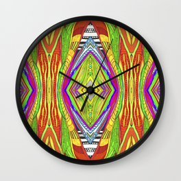 life pattern number 2 Wall Clock