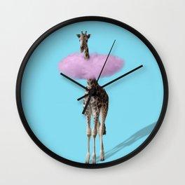 Giraffe 3 Wall Clock