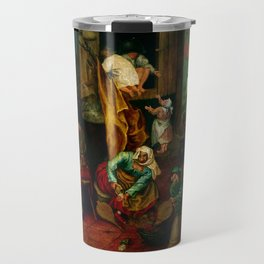 "Pieter Bruegel (also Brueghel or Breughel) the Elder ""An alchemist"" Travel Mug"