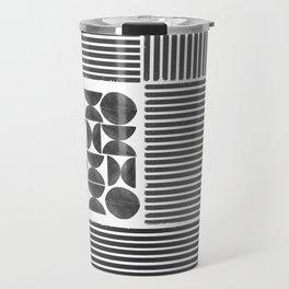 Geometric Block Design Travel Mug