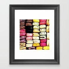 Macarons LOVE Framed Art Print