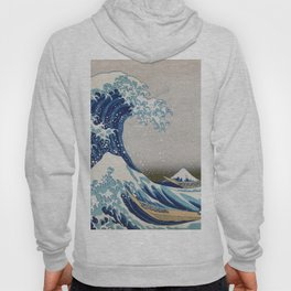 Under the Wave off Kanagawa - The Great Wave - Katsushika Hokusai Hoody