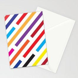 Rainbow Rain Stationery Cards