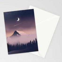 Misty Mountains. Stationery Cards