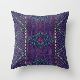 Kaleidoscope Eyes Throw Pillow