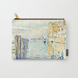 """Henri-Edmond Cross """"Venise, l'Île de Torcello"""" Carry-All Pouch"""