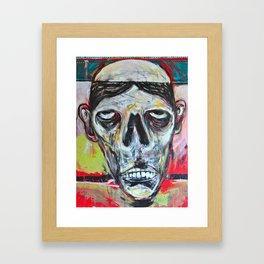 Bald Citizen Framed Art Print
