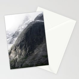 Mountain landscape #norway Stationery Cards