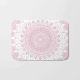 Boho Pink Mandala Bath Mat