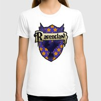 ravenclaw T-shirts featuring Ravenclaw Crest by AriesNamarie
