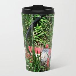 Discarded Travel Mug