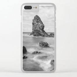 Gwenfaens Pillar Clear iPhone Case
