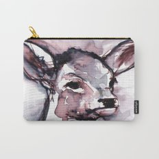 Fawn, Watercolor Carry-All Pouch