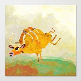 Buffalope (Bewundering World of Bewilderbeests) Canvas Print