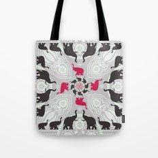 Newport Elephants Tote Bag