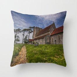 St Andrew Beddingham Throw Pillow